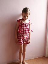 Detské oblečenie - overal, krátke nohavice - 548945