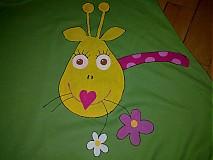 Tričká - tričko  ŽIRAFKA - 590145