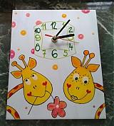 Hodiny - HODINY - žirafkové - 595572