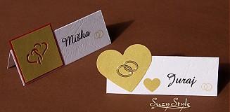 Papier - Menovky na svadbu - 60268