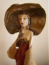 Socha - Dáma v klobúku - 604604