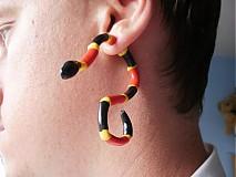 Náušnice - Korálovec do ucha - 607363