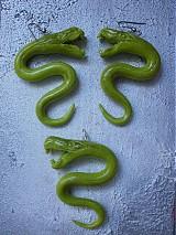 Sady šperkov - Zelené hady - 608698