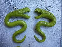Sady šperkov - Zelené hady - 608699