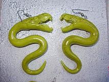 Sady šperkov - Zelené hady - 608706