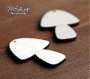 Materiál ručne robený - Hríbiky - 610413