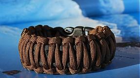 Náramky - Paracord Survival Bracelet | dvojitá kobra - 61298