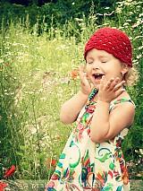 Detské čiapky - Červená čiapočka - 614189