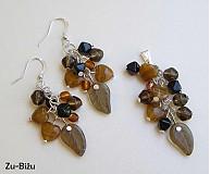 Sady šperkov - Hnedá súprava - 624480