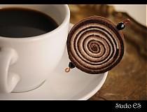 Odznaky/Brošne - coffee&toffee - 62635