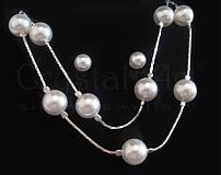 Sady šperkov - Swarovski perličky - 631316