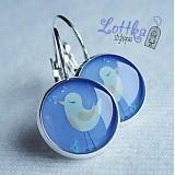Náušnice - Ptáček cvrlikavý obecný - 636205