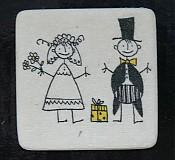 Darčeky pre svadobčanov - JUST MARRIED - 649426