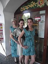 Tuniky - tyrkysové šaty - 661951