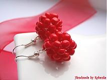 - Červené bobulky - čerešničky - 674441
