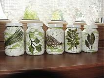 Nádoby - pohariky na bylinky - 676113