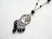 Náhrdelníky - black lady - 678119