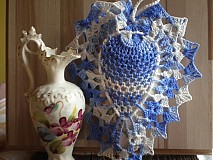 Dekorácie - Modré srdiečko a voniáá - 680255
