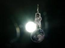 Náušnice - na mesiaci - 680323