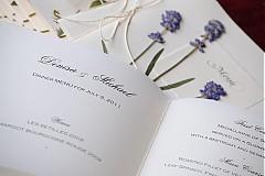 Papiernictvo - KVITNÚCA LÚKA svadobné menu - 684341