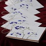 Papiernictvo - KVITNÚCA LÚKA svadobné menu - 684343