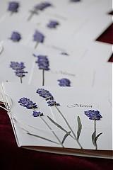Papiernictvo - KVITNÚCA LÚKA svadobné menu - 684350
