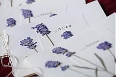 Papiernictvo - KVITNÚCA LÚKA svadobné menu - 684352