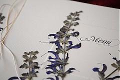 Papiernictvo - KVITNÚCA LÚKA svadobné menu - 684362