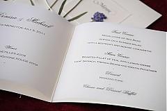 Papiernictvo - KVITNÚCA LÚKA svadobné menu - 684363