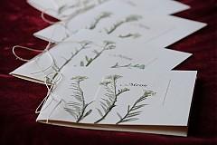 Papiernictvo - KVITNÚCA LÚKA svadobné menu - 684364