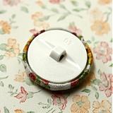 Materiál ručne robený - Buttonky Šípková ruženka 26 mm - 685908
