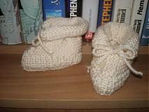 Topánočky - papučky babätkovské - 690970