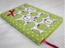 Papiernictvo - Zelené jabĺčko...(zápisník alebo receptár) - 692905