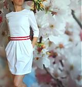 Šaty - .malé biele - 708173