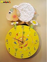 Hodiny - Hodiny ovečka - 708544