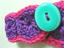 Náramky - Náramok milujem farby - 708731