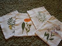 Úžitkový textil -  vrecúška na bylinky 3 - 717077