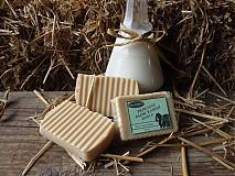 - Prírodné olivové mydlo s čerstvým kozím mliekom - 724817