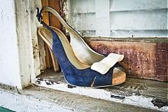 Obuv - Ozdoba na topánky - krémová - 728551