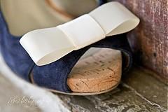 Obuv - Ozdoba na topánky - krémová - 728552