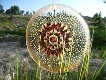 Dekorácie - Mandala plná jasu a ľahkosti - 737608