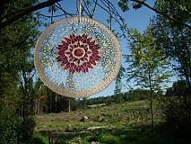 Dekorácie - Mandala plná jasu a ľahkosti - 737630
