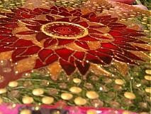Dekorácie - Mandala plná jasu a ľahkosti - 737632