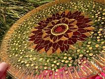 Dekorácie - Mandala plná jasu a ľahkosti - 737665