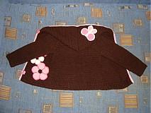 Detské oblečenie - Svetrík s kapucňou - 748455