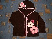 Detské oblečenie - Svetrík s kapucňou - 748459