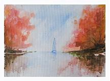 Obrazy - Jesenná zátoka - 749445