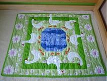 Úžitkový textil - Deka husi pri jazere - 752683