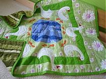 Úžitkový textil - Deka husi pri jazere - 752687