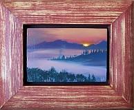 Obrazy - Oravská priehrada -séria 3 miniatúr - 758489